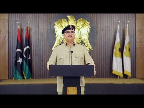 حفتر يهدد باجتياح واسع للعاصمة طرابلس