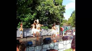 preview picture of video '3. Inti Raymi Sonnwendfest in München 23-06-2012 Riro Rapa Nui - Tanz - Chile'