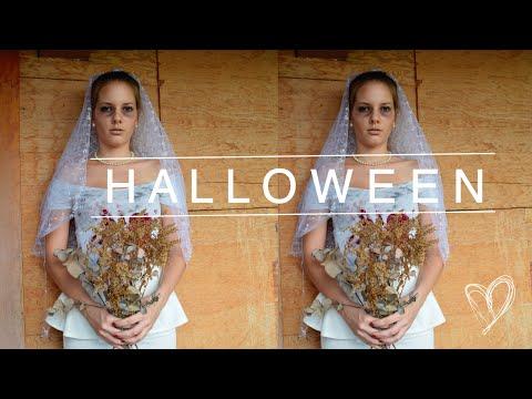 Disfraz y Maquillaje de Novia Muerta | Fácil y Rápido para Halloween