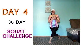 DAY 4 | 30 Day Squat Challenge | 100 SQUATS Daily | Babywearing Workout | Fitness For Mamas
