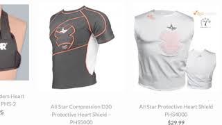 Baseball Heart Protector | Baseball Bargains