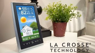 Vivid Color Weather Station with Liquid-Crystal Display