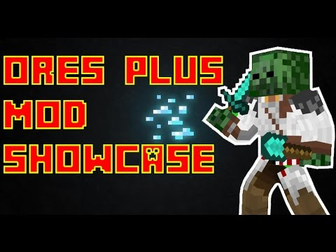 Minecraft Ores Plus Mod Showcase