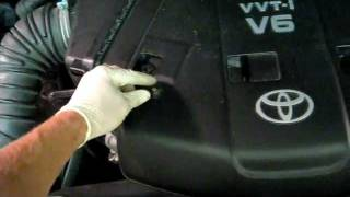 How to change spark plugs - Toyota 4Runner 2006