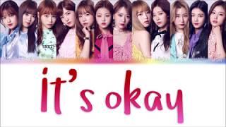 IZ*ONE – Gwaen Chanha Yo/It's Okay (ケンチャナヨ)  Color Coded Lyrics [ENG/ROM/JPN]