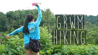 GRWM | Hiking Outfit & Make Up | NEW YORK?! | Eva Chung