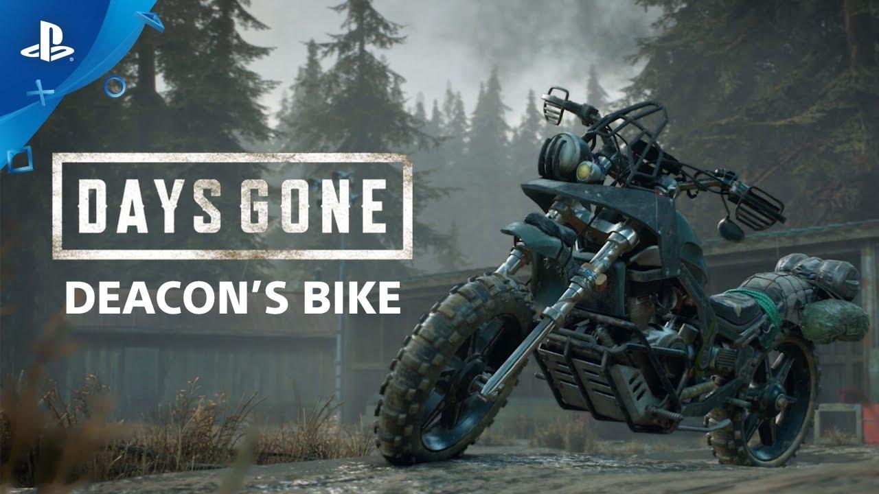 Building Deacon's Bike in Days Gone