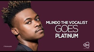 Mlindo The Vocalist Goes Platinum