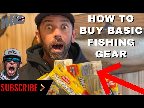How to Buy Basic Fishing Gear