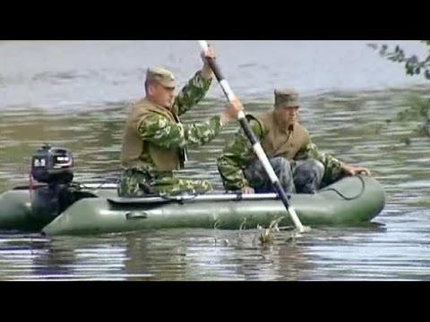 Video del russo che pesca labynkyr