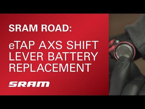 eTap AXS Shift Lever Battery Replacement