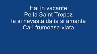 Florin Salam Saint Tropez Lyrics