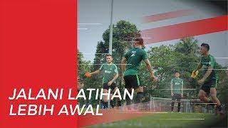Timnas Indonesia Jalani Latihan Perdana Sebelum Bertanding Melawan Malaysia
