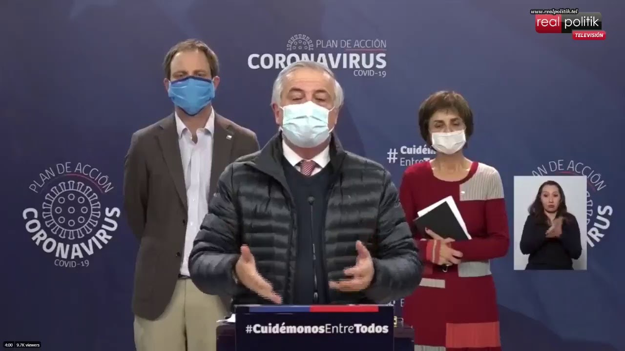 Chile: Más de 11.000 casos confirmados y 168 muertos por coronavirus