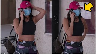 Nora Fatehi BUSY Talking To Boyfriend On Phone When Spotted Below Building
