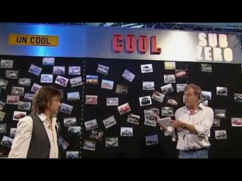 The Cool Wall – Top Gear – BBC