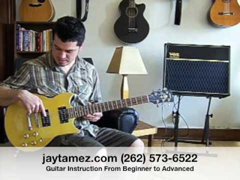 Electric Guitar Lesson 1