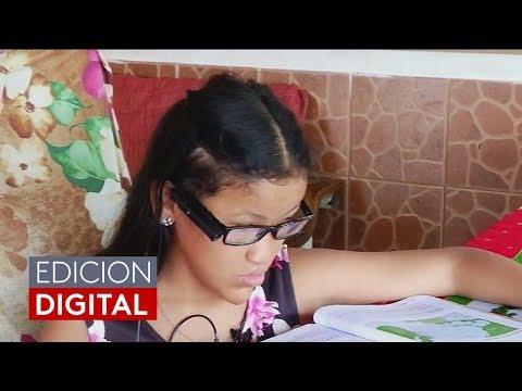 Niña hispana narra cómo cambió su vida tras usar unos lentes inteligentes