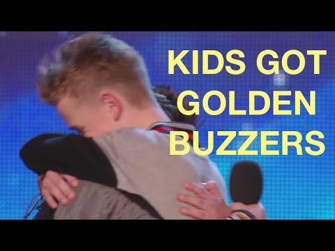 TOP 5 BEST KIDS GOLDEN BUZZERS | America's and Britain's Got Talent