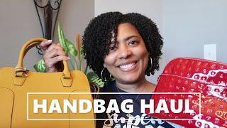 AFFORDABLE HANDBAG HAUL   Genuine Leather Handbags That Are Budget Friendly