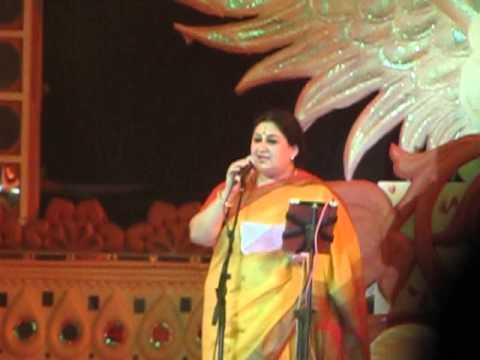 शुभा मुदगल बिहार दिवस 2013 पर प्रदर्शन
