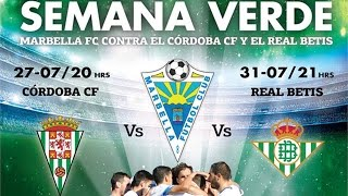preview picture of video 'Marbella FC - Real Betis Balompié'