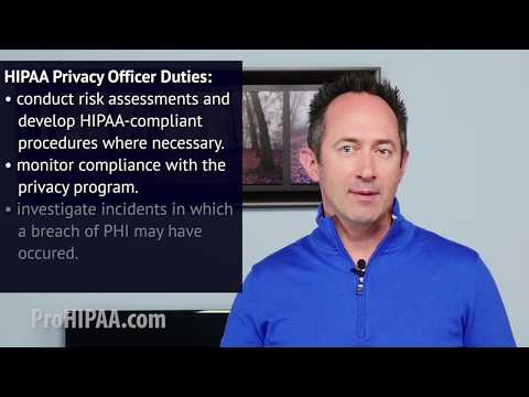 Do I need a Privacy Officer or Security Officer?   HIPAA Training ...