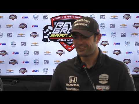 2019 IndyCar Road America Schmidt Petersen Press Conference