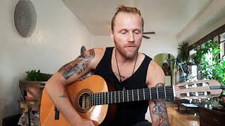 """How to Play """" Face in the Crowd """" Tom Petty Cover by Mitchell Coleman"""