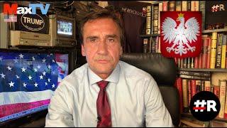 Max Kolonko PRAWDA WYZWALA  cyt: to nie są Polacy to są ciule, złodzieje#R REVOLUTION