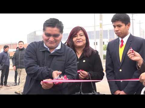 Inauguración de vías y servicios básicos para el COAR Tacna