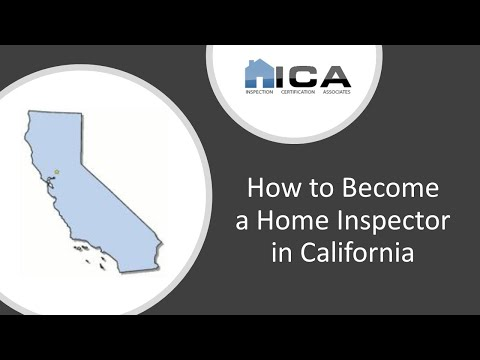 How to Become a Home Inspector in California - California Home ...