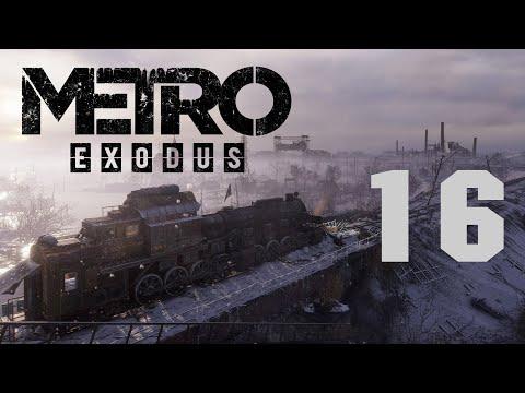 Метро Исход / Metro Exodus - Прохождение игры - Волга ч.12 - Добиваем интересные места [#16]   PC
