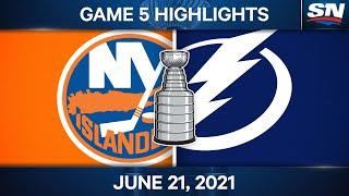 NHL Game Highlights | Islanders vs. Lightning, Game 5 - Jun. 21, 2021