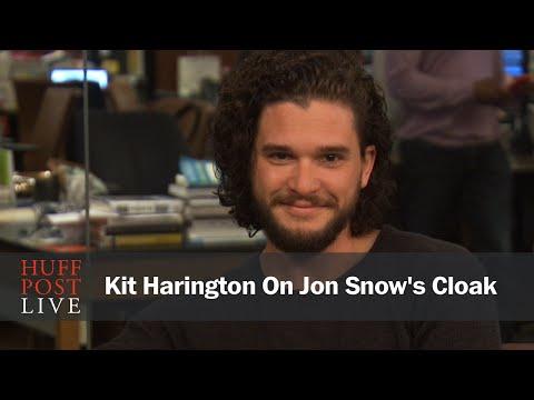 Kit Harington On Jon Snow's Cloak