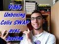 *Vidéo* : Unboxing - Colis SWAP avec Justine