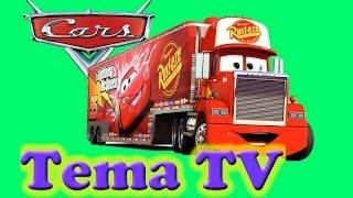 Тачки игра  Автоперевозчик Мак большая автостанция  Молния Маккуин, Мэтр, Филмор  Disney Cars Mack T