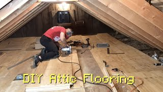 DIY Attic / Loft Flooring