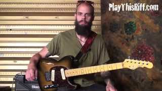 "BARONESS Guitar Lesson ""Take My Bones Away"" PlayThisRiff.com"