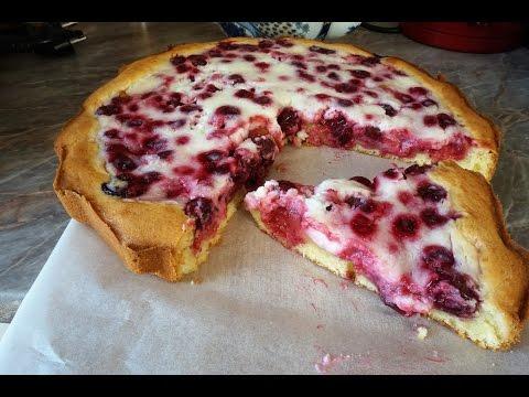 Вишнёвый пирог/ пай с вишней/cherry pie