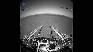At last: First Photos from China's Mars Rover #shorts