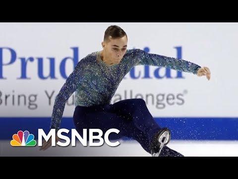 Olympic Athlete Adam Rippon Shines Light On Mike Pence's Anti-LGBT Record   AM Joy   MSNBC