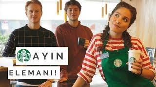 STARBUCKS'TA ÇALIŞTIM! | Murathan ve Hazım'a Kahve Yaptım ☕️