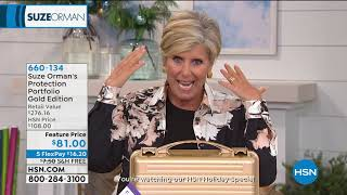 HSN | Suze Orman Financial Solutions for You 12.25.2019 - 03 PM