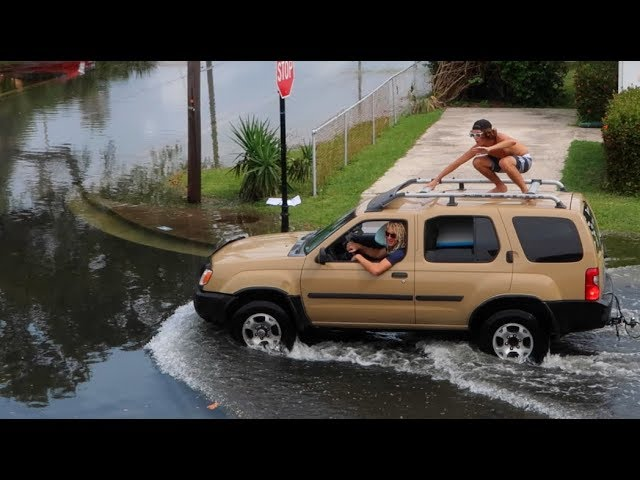 FLORIDA IS SINKING!! Surfing The Streets | JOOGSQUAD PPJT