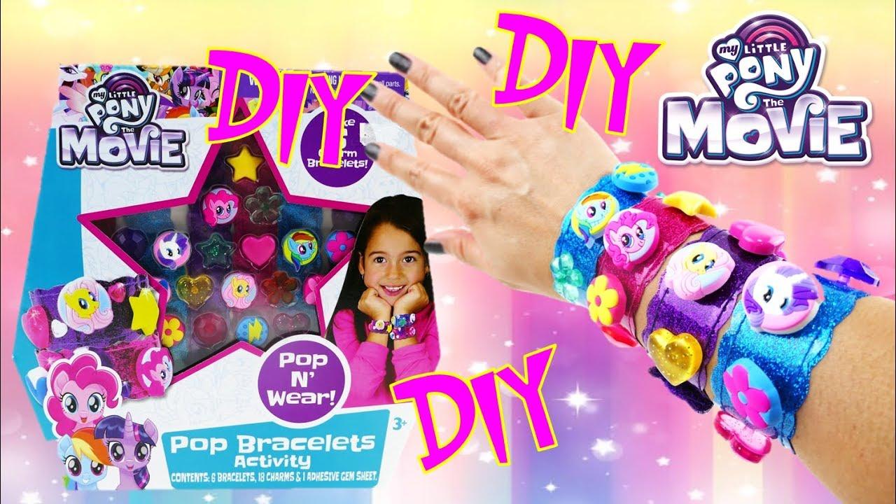 My Little Pony Movie Pop Bracelets Activity Kit with Charms