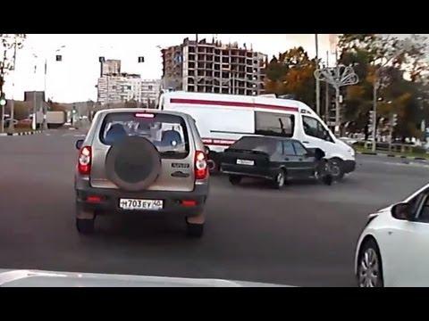 Accidentes grabados con Dashcam septiembre 2013