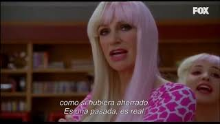 GLEE: I Still Believe  Y  Super Bass (Blaine  Y Sue Sylvester )
