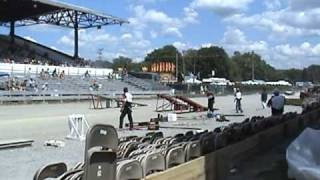 preview picture of video '2010 Clearfield County Fair  Hellrider Stunt Show  and Novey Recycling'