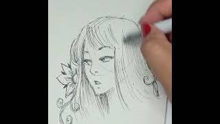 Dibujando con Azor: Uni-Ball | Aprendiendo a dibujar | técnicas de dibujo